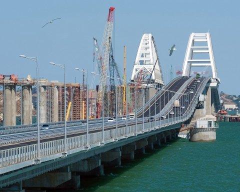 Боятся, что развалится: появилось свежее фото путинского моста в Крым