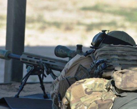 Український снайпер ліквідував небезпечного бойовика на Донбасі: момент потрапив на відео