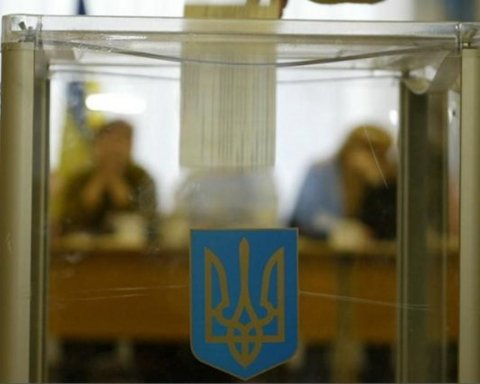 Вибори президента України: з'явилися перші фото з дільниць
