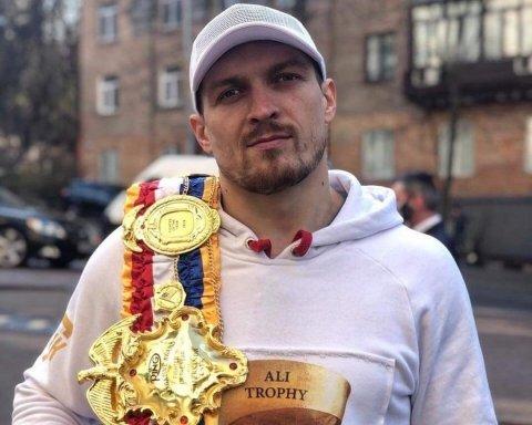 Усик тренується у несподіваному місці у Києві: з'явилося відео