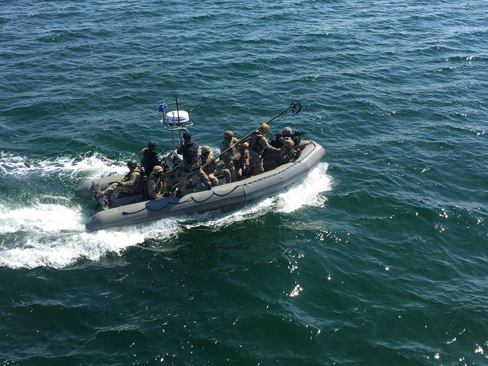 Українські військові показали, як будуть захоплювати ворожі судна: опубліковано сильні фото