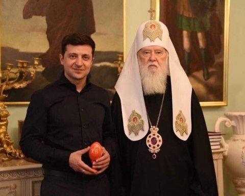 Після Епіфанія Зеленський зустрівся з Філаретом та Онуфрієм