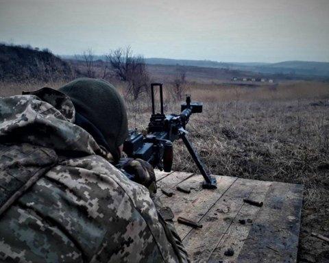 Одразу 8: момент знищення бойовиків на Донбасі потрапив на відео