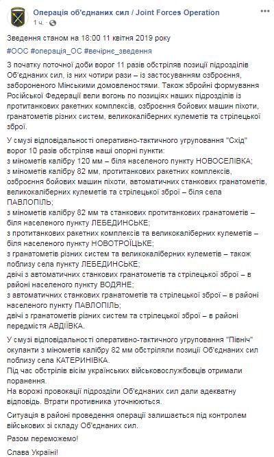 На Донбасі серйозно загострилася війна: тривожні новини з фронту