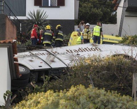 Число жертв автокатастрофи на Мадейрі зросло: з'явилося моторошне відео з висоти