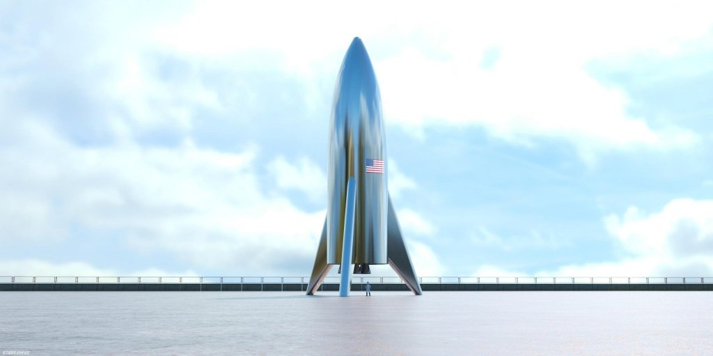 Маск провів ефектне тестування свого марсіанського корабля: з'явилося відео