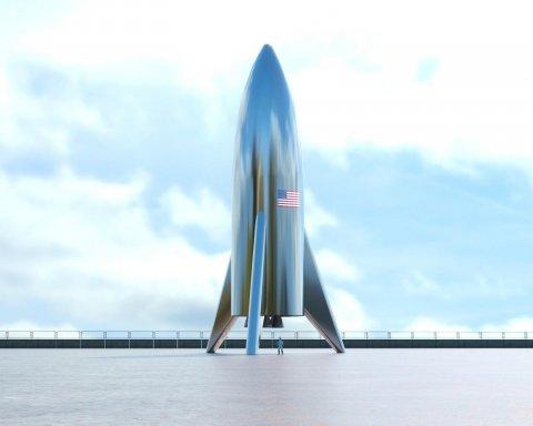 Маск провел эффектный тест своего марсианского корабля: появилось видео