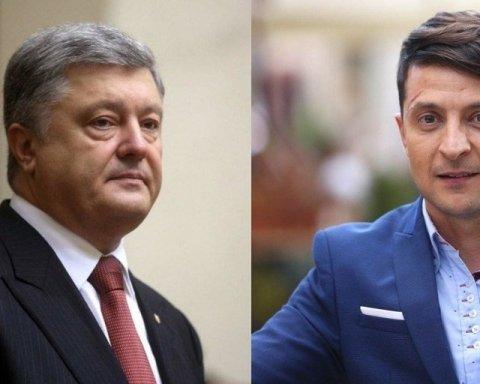 Зеленський та Порошенко поспілкувались після оголошення результатів екзит-полів: подробиці