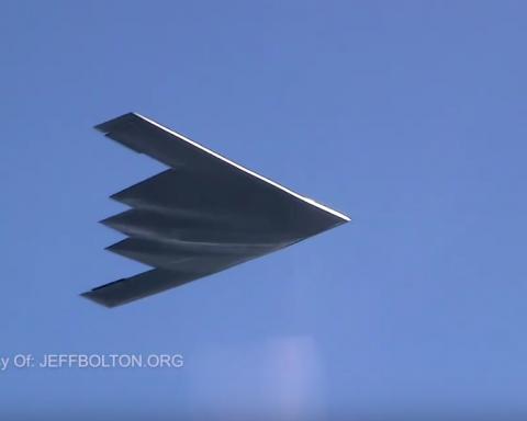 У мережу потрапили фото і відео найбільш секретного літака США