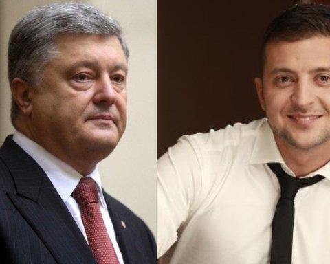 Зеленський проти Порошенка: з'явилися нові дані щодо дебатів
