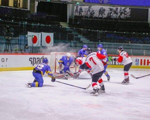 Сборная Украины уступила Японии на чемпионате мира по хоккею: видео голов