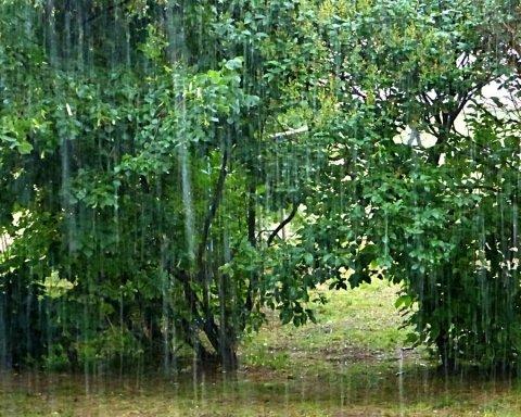 Київ накрила сильна злива: фото і відео негоди
