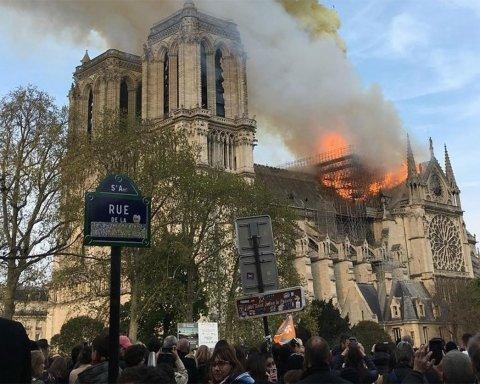 З'явились важливі дані про виникнення пожежі у Нотр-Дам де Парі