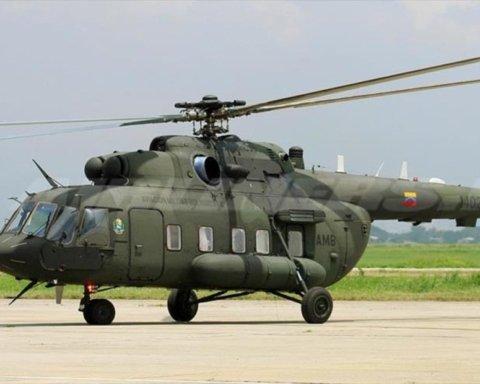 В Венесуэле разбился военный вертолет: первые подробности