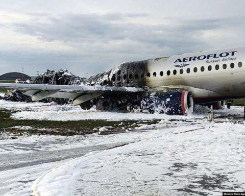 """Авіакатастрофа в """"Шереметьєво"""": спливло відео з літаком, яке все пояснює"""