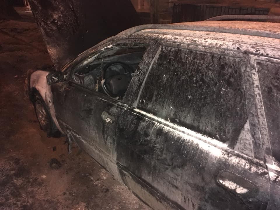 Сожженное авто