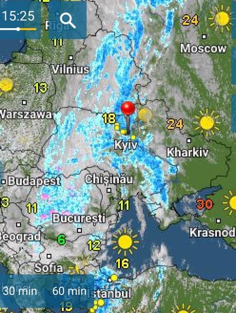 Мокрий сніг і заморозки: синоптики розповіли, кому найбільше не пощастить з погодою