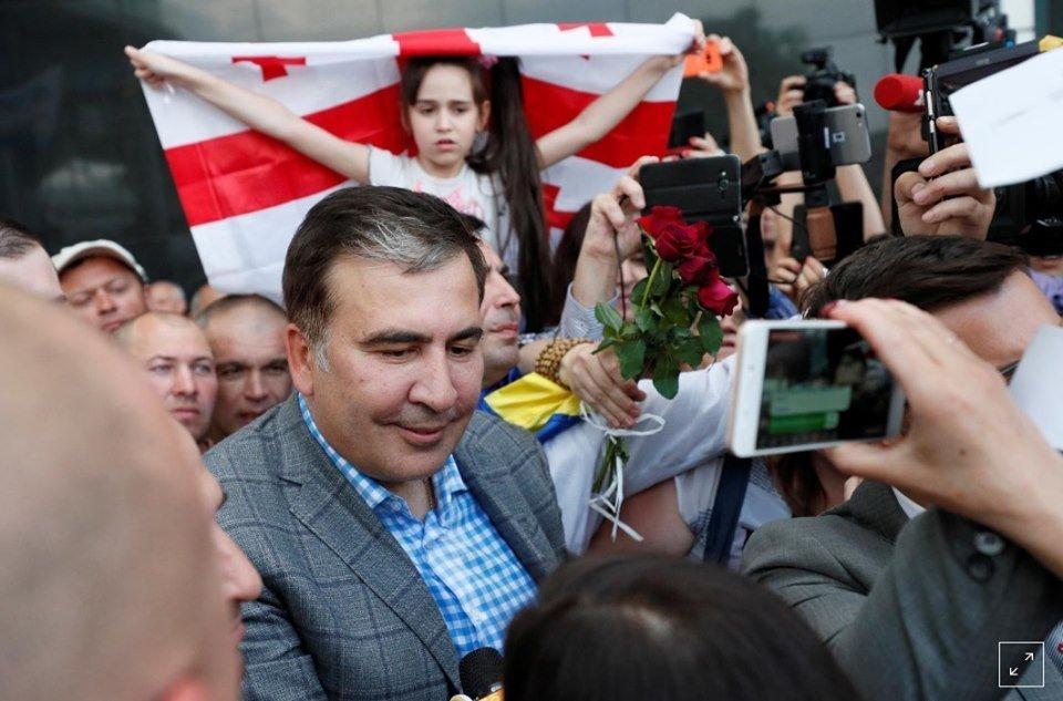 Епічне повернення Саакашвілі до України: як це було