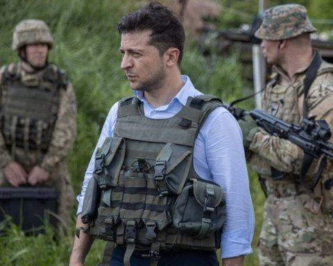 Зеленский побывал на линии фронта на Донбассе: появились интересные фото