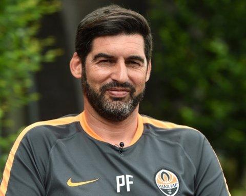 Тренер Шахтаря Фонсека може очолити італійську команду