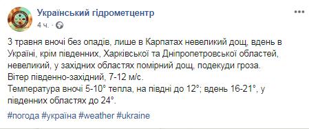 Будут дожди, но не везде: синоптики сообщили, кому в Украине повезет с погодой