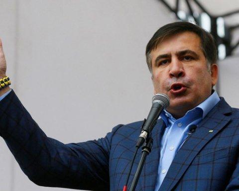 Саакашвили вернулся в Украину: фото, видео и все подробности
