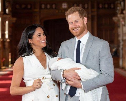 ВІдома тенісистка стане хрещеною матір'ю сина Принца Гаррі та Меган Маркл