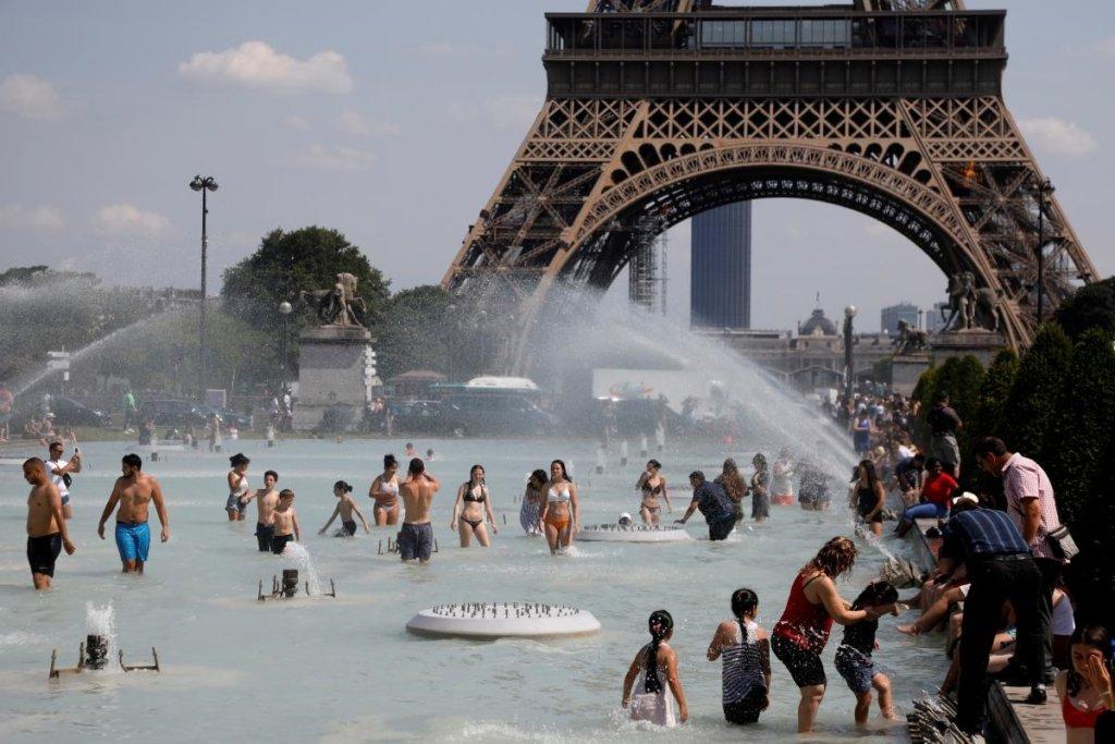 Жара в Европе: зафиксирована самая высокая за всю историю наблюдений температура