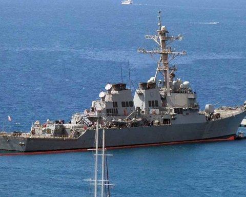 В Чорне море увійшов американський корабель, напханий надсучасною зброєю