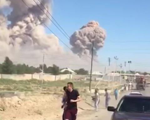 В Казахстане эвакуируют город вблизи эпицентра взрывов