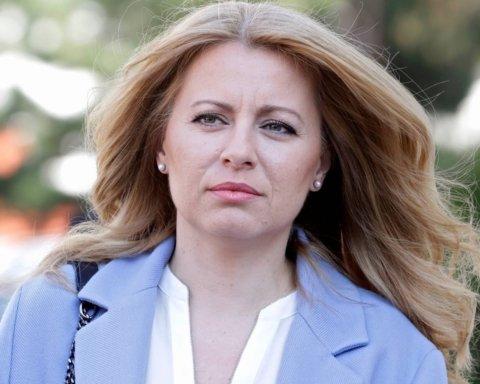 Вперше в історії: в Словаччині президент прийняв присягу