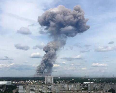 Шокуючі кадри: з'явилось відео другого вибуху на військовому заводі РФ