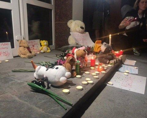 Вбивство дитини копами під Києвом: з'вилося перше відео з місця трагедії