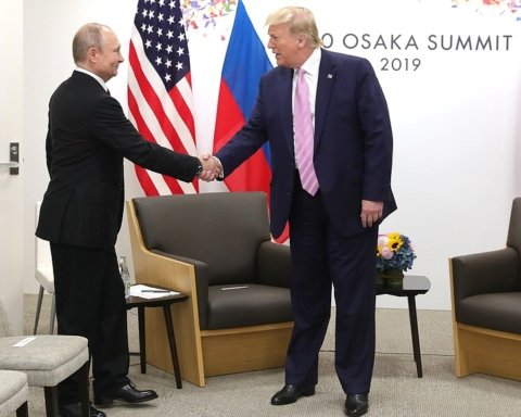 Путин надел каблуки ради встречи с Трампом
