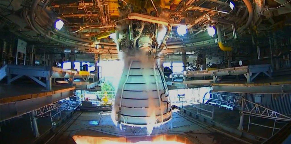 NASA успешно испытали ракетный двигатель с деталями, которые были напечатаны на 3D-принтере