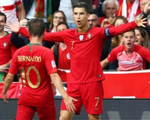 Сборная Португалии с хет-триком Роналду вышла в финал Лиги Наций