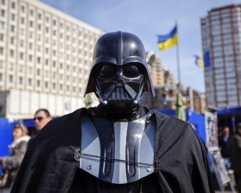 Дарт Вейдер баллотируется в нардепы в Украине: интересные подробности