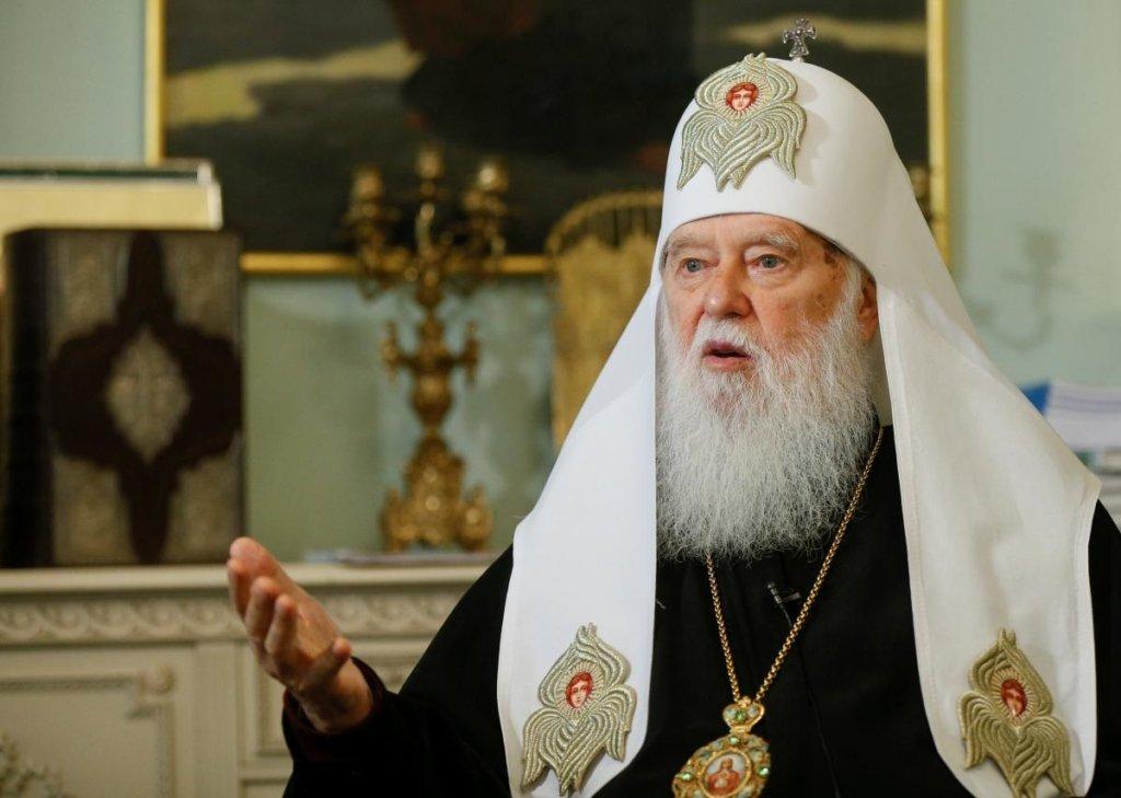 Філарет накинувся на Епіфанія через ліквідацію Київського патріархату