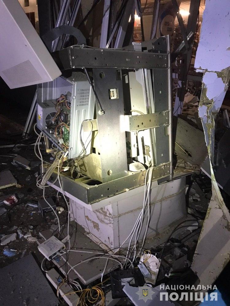 В Харькове взорвали банкомат «ПриватБанка»: последствия попали на фото