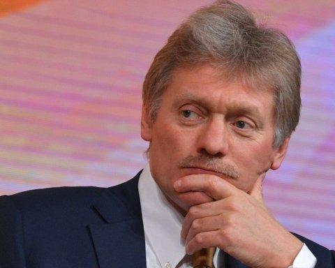 Розведення сил на Донбасі: у Кремлі прокоментували поїздку Зеленського