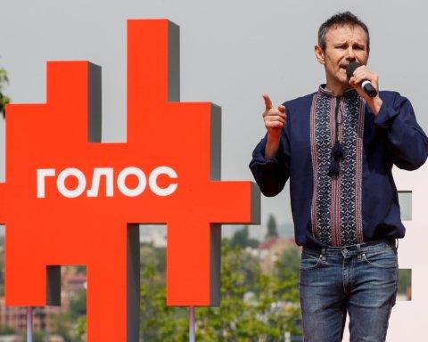 У Вакарчука показали «автобус перемен» его новой партии