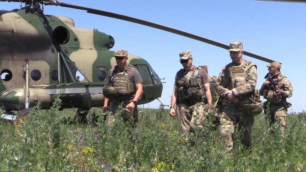 Україна починає масштабні антитерористичні навчання на кордоні з Росією