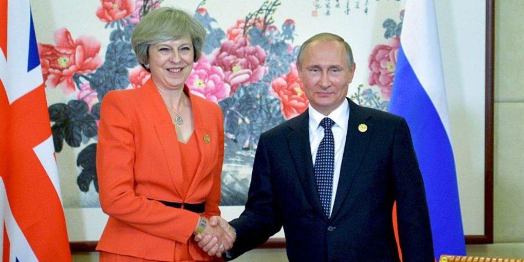 ЗМІ: Мей зібралася помиритись із Путіним