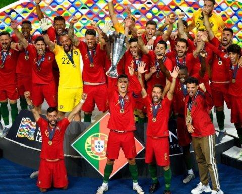 Сборная Португалии выиграла Лигу Наций