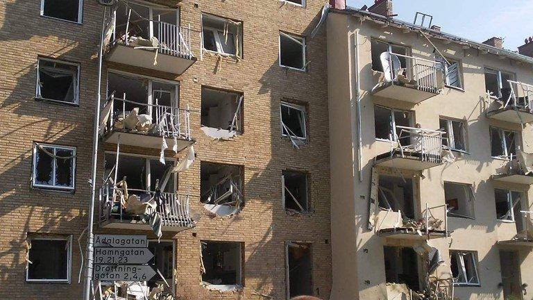 У Швеції прогримів потужний вибух, є постраждалі: перші кадри з місця НП