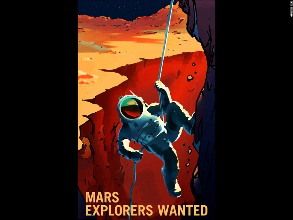 НАСА приглашает желающих работать на Марсе (фото)