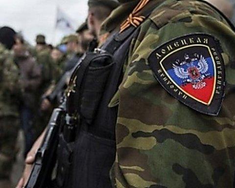 Боевик «ДНР» случайно «самоликвидировался» на Донбассе: момент попал на видео