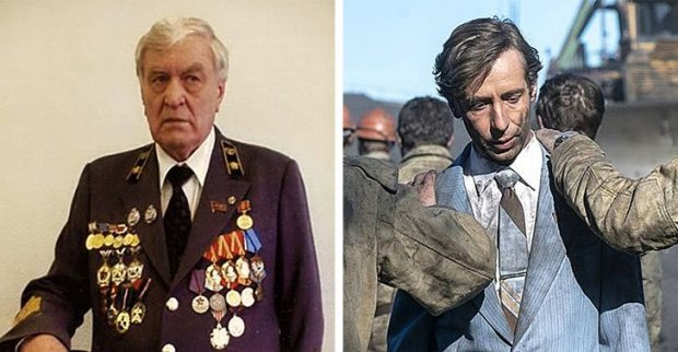 """Як виглядали головні герої серіалу """"Чорнобиль"""" у реальному житті: фотопорівняння"""