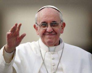 Папа Римский Франциск обещал молиться за «дорогую украинскую землю»
