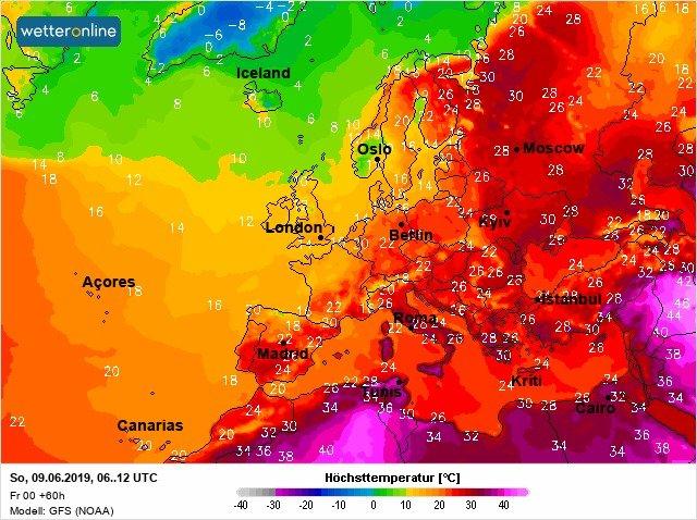 Спека з грозами: якою буде погода на вихідних в Україні